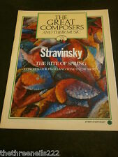 GREAT COMPOSERS #43 - STRAVINSKY - THE RITE OF SPRING