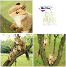 miss oh/Stuffed Plush Soft Toy Stofftier realistic #3090 Chipmunk Sitting
