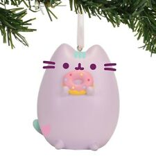 Pusheen Pastel Purple Pusheen with Donut Hanging Ornament Ornament New!