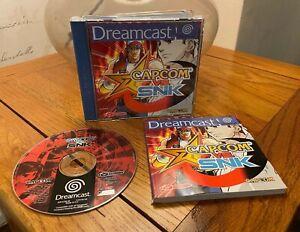 Capcom vs. SNK Game (Sega Dreamcast) - PAL