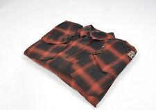 G-Star blanner Venecia Hombres Camisa a Cuadros Cuadros Talla L, Original