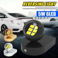 12V 5W 6LED Backup Light Bulbs Reversing Car Auto Fog Lamp White