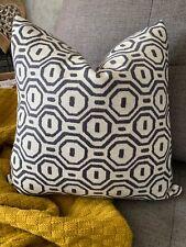 "Gotska Cushion & Pillow Cover 16"" Studio G Designer Fabric & Geometric"