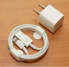 IPHONE charger Cables & Wall Cube for iPhones 5, 6, 7 ,8, xs, xs max and tablet