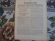 1894 ...Württemberg 10 / Reklame / Marienkirche Reutlingen