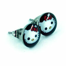 Hello Kitty NEW Stainless Steel Post Pierced Earrings Pair