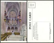 New listing District Of Columbia Washington flag cathedral Vintage Postcard