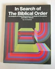 In Search of the Biblical Order An Analysis of Coded Structure in th