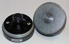 McGee CD005C PA Hochtontreiber Hochtöner Horn Magnet Schraubanschluss 35mm