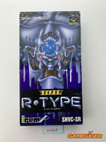 SUPER R-TYPE Nintendo Super Famicom SNES SFC JAPAN Ref:313646