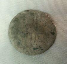 1711-13 aa french american colonial 15 deniers demi mousquetaire billon silver
