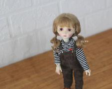 """QQ-68 BJD Doll Mohair Wig  1/10 4-5""""; 1/8 5-6"""";1/6 6-7""""; 1/4 7-8"""" ;1/3 8-9"""""""