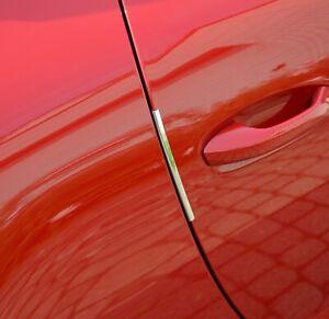HP Auto Kantenschoner Chrom 12 Zierleisten 145 mm Sticks Türschutz Kantenschutz