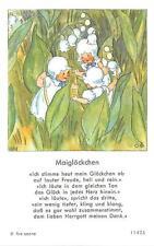"Fleißbildchen Heiligenbild Gebetbild  Ida Bohatta Holycard"" H2532"""