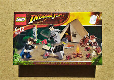 LEGO Indiana Jones Jungle Duel Duell (7624) Kristallschädel (Military) NEU & OVP
