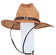 Life Guard Straw Hat Beach Garden Yard Farm sun protect Park Cruise Spring Break