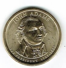 2007-P $1 Brilliant Uncirculated President John Adams Dollar Coin!