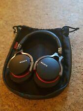Sony MDR-1R Headphones Black/Red