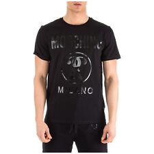 T-shirt men Moschino A070602400555 Black tee-shirt