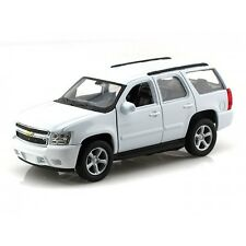 WELLY 22509W 2008 08 CHEVROLET TAHOE SUV 1:24 CAR WHITE STREET VERSION