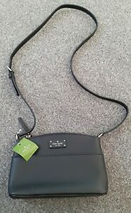 KATE SPADE BAG MILLIE GROVE STREET BLACK LEATHER NEW