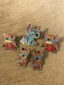 Lilo and Stitch - Disney Parks Trading Pin Bundle  X 5