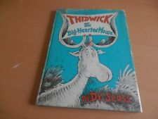 Dr Seuss Thidwick the Big Hearted Moose 1st edition 1st print Collins 1968