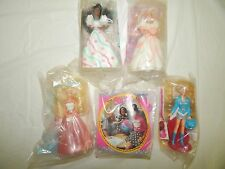 Mixed Lot of 6 Barbie and Friends Mcdonalds Happy Meal Toys Free USA Ship