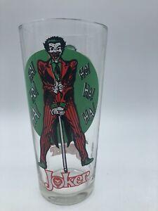 Joker Pepsi Super Series 1976 Collector Glass DC Comics Green Moon