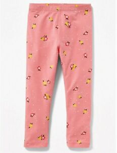 NEW OLD NAVY Leggings Multicolor Flower Toddler Girls  Full lengths