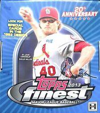 NEW UNOPENED 2013 Topps Finest Baseball Sealed Hobby Box