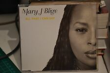 MARY J BLIGE - ALL THAT I CAN SAY (3 track CD single)