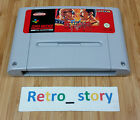 Super Nintendo SNES Final Fight PAL