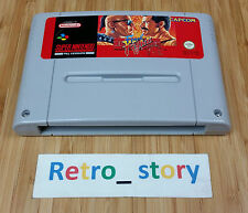 Super Nintendo SNES Final Fight PAL