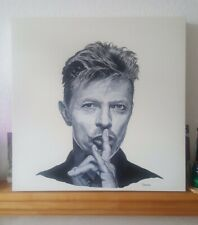 """David Bowie"" Shush painting"