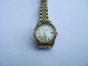 Vintage Jules Jurgensen Quartz Women's Wrist Watch, WORKS~~Very Nice