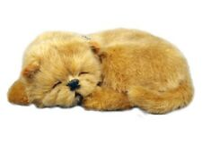 PERFECT PETZZZ CHOW CHOW PLUSH PUPPY BREATHING HUGGABLE ANIMAL DOG REAL PET SOFT