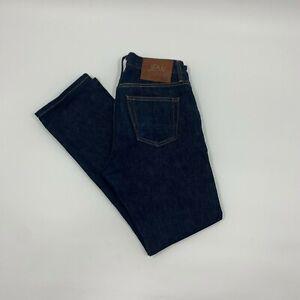 Jean Shop Bowie Slim Fit - Denim Blue selvedge Denim Made In USA - size 28x30