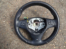 2008 (58) BMW 1 series E81 E82 E87 leather steering wheel with controls M Sport
