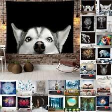 3D Animal NATURA FORESTA Arazzo CASA SALOTTO Muro Appeso Buttare Decorazione