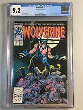 Wolverine 1 - CGC 9.2 - 1st Muramasa, Black Blade, & Wolverine as Patch