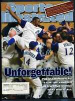 SPORTS ILLUSTRATED NOVEMBER 12 2001 DIAMONDBACKS WIN WORLD SERIES