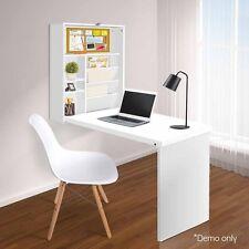 Fold Away Swing Wall Desk Office Computer Storage  Convertible Shelf