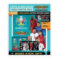 2020-21 Panini Euro 2020-21 Adrenalyn Soccer Starter Album+18 Cards & 3 LE Cards