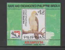 Philippines - 1994, Aseanpex Exh. Philippine Eagle, Bird sheet - MNH - SG MS2693
