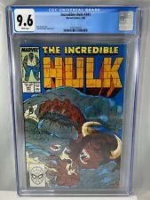 Incredible Hulk #341 CGC 9.6 NM+ 3/88 1988 Marvel Comics WP McFarlane Cover