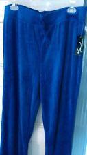 KIM ROGERS XL cotton stretch royal blue Lounge Sweat Pants Women's NEW w/ Tag
