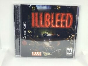 Illbleed Dreamcast Custom Reproduction Case NO DISC - FAST SHIPPING!!!!!!