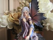 Fairyland Fairy Figurine with red rose by Pacific Giftware New in Box! #9730
