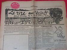 Journal du front 1915/WW1/LE RIRE AUX ÉCLATS